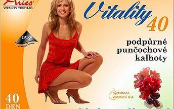 Avicenum Vitality 40 podpůrné punčochové kalhoty kompresivní 170-176/108-116 světlé tělové