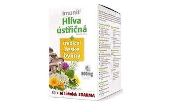 Imunit Hlíva ústřičná + tradiční české byliny 50 + 10 tobolek