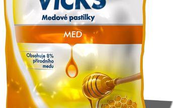 Vicks medové pastilky (72 g)