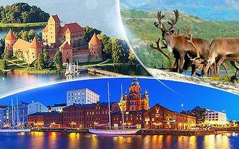 Finsko a Pobaltí! 14denní zájezd busem pro 1 osobu v termínu 7.-20.8.2016, bohatý program, průvodce!