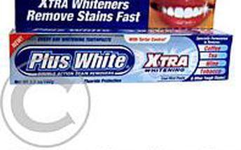 Plus+White Extra Whitening 100 g bělící zubní pasta
