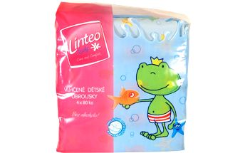 LINTEO Baby Ubrousky Pure and Fresh 8x80 ks