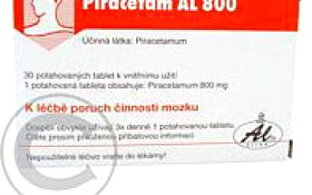 PIRACETAM AL 800 30X800MG Potahované tablety