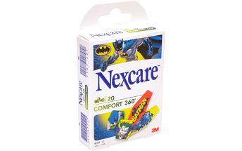 3M Nexcare Dětská náplast Batman Comfort 360° 20 kusů