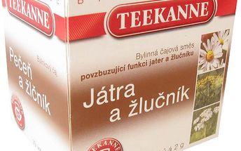 TEEKANNE Játra a žlučník 10 x 2.0 g nálev. sáčky
