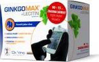 GinkgoMAX 90 tobolek + Lecitin Da Vinci Academia 15 tobolek + dárek rukavice