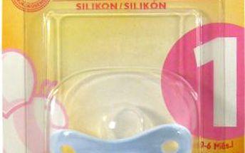 NUK - Dudlík uklidňující Modrý SI. 0 - 6 měsíců 1ks