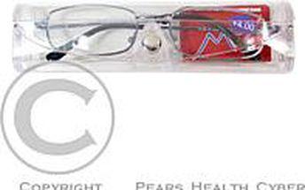 American Way Dioptrické brýle čtecí + 2.00 modré v etui