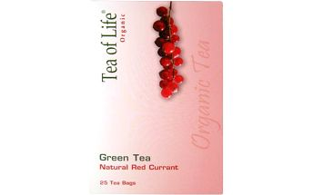 Tea of Life Green tea červený rybíz 25x2g