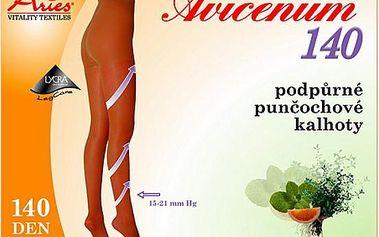 Punčochové kalhoty Avicenum 140 černá velikost 3 Dlouhé s Bylinkami
