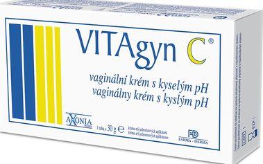 VITAGYN C - vaginální krém s kyselým pH 30g