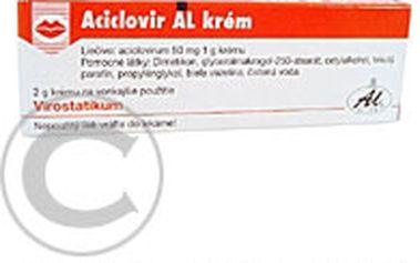 ACICLOVIR AL KRÉM 1X2GM/100MG Krém