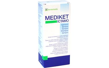 BENEMEDO Mediket Ictamo šampon 80 ml