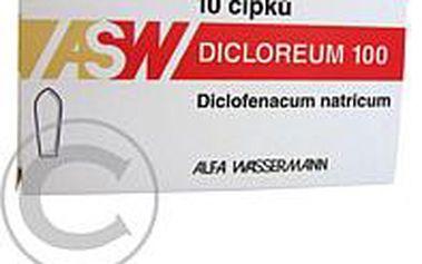 DICLOREUM 100 mg 10 čípků