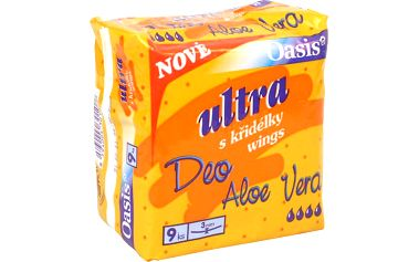 DHV Oasis ALOE VERA ultra singel 9 kusů