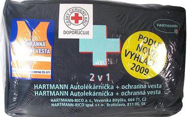 Hartmann autolékárnička taška 2v1 s vestou nová vyhláška 2009