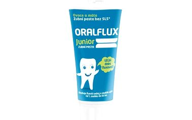 Oralflux Junior zubní pasta 50 ml