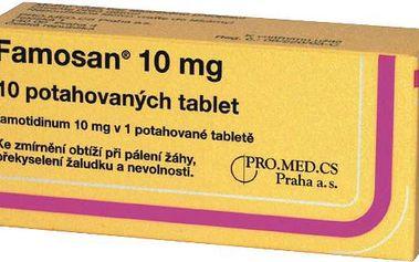 FAMOSAN 10 MG 10X10MG Potahované tablety