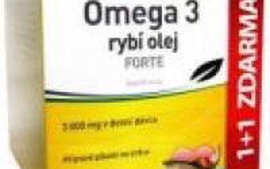 WALMARK Omega 3 rybí olej FORTE 60+60 tobolek