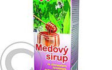 Medový sirup jitrocel + tymián + mateřídouška + vitamín C 100 g