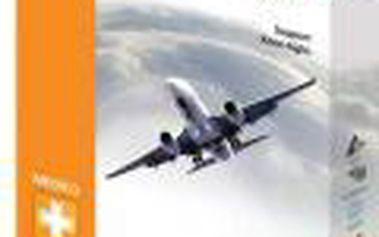 Podpůrné cestovní podkolenky Avicenum 70 Travel se zesílenou patou 29-31 černá