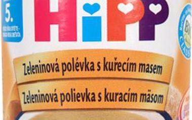 HIPP POLEVKY BIO Zeleninová s kuřecím 190g CZ7973