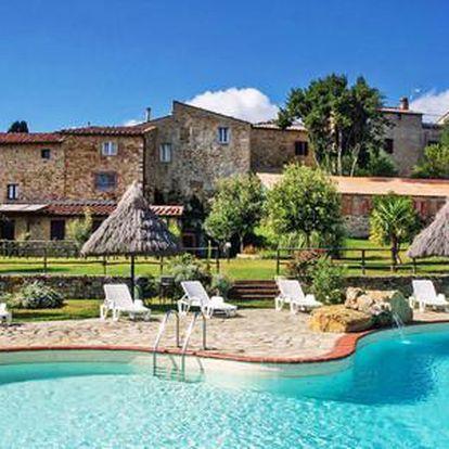 Ubytování v krásné venkovské rezidenci v toskánském stylu v tichém prostředí pro 2 osoby