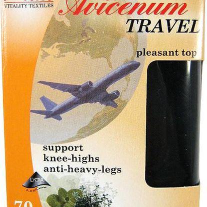 Avicenum Travel podkolenky 23-25 černá