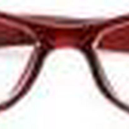 American Way Dioptrické brýle čtecí s pouzdrem +3.00 červené