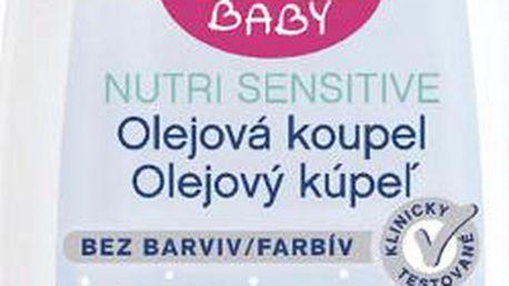 NIVEA Baby hedvábně jemný šampon 200ml