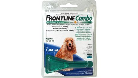 FRONTLINE COMBO SPOT-ON DOGS A.U.V. SOL 1X1,34ML