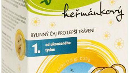 BABIO Dětský heřmánkový biočaj n.s. 20x1 g