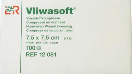 Komprese Vliwasoft nesterilní 7.5x7.5cm/4v 100 ks
