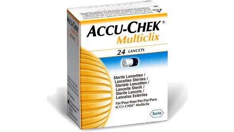 Accu Chek Multiclix Lancet 24ks jehliček