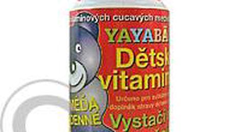 Yaya Bär 120g dětské vitamíny cucací medvídci