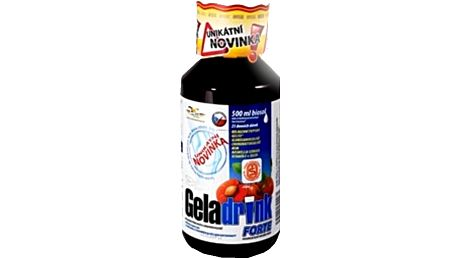 Geladrink Forte biosol černý rybíz 500 ml