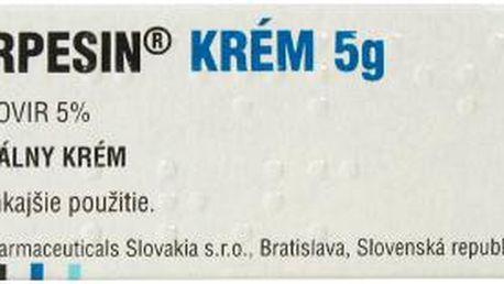HERPESIN KRÉM 1X5GM 5% Krém