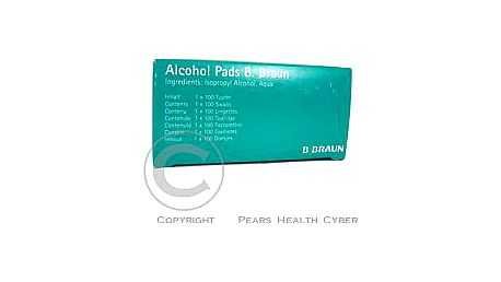 ALCOHOL - desinfekční čtverečky 100ks