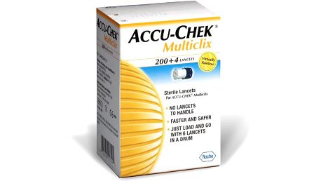 ACCU Chek Multiclix Lancet 204 ks jehliček