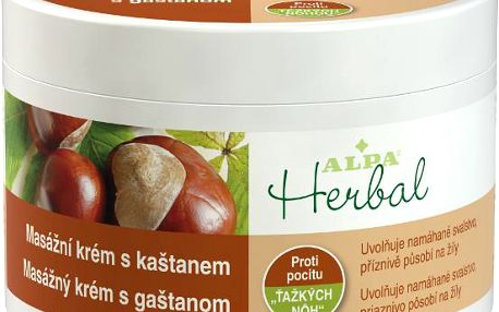 ALPA Herbal krém KAŠTAN 250 ml