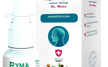 RYMASTOP Dr. Weiss - bylinný nosní spray 30 ml