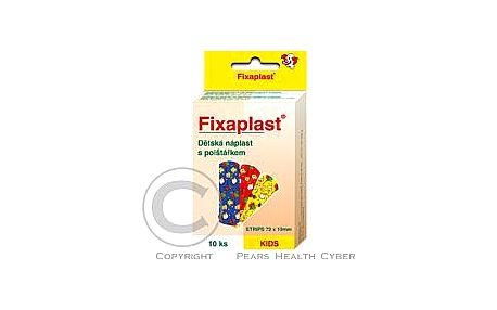 Náplast Fixaplast KIDS strip 10 ks