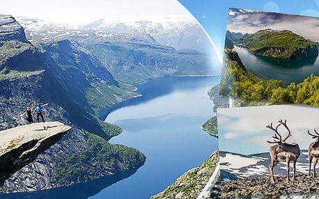 Jižní Norsko - cestami Trollů! 14denní zájezd busem pro 1 osobu v termínu 17.-30.7.2016, bohatý program!