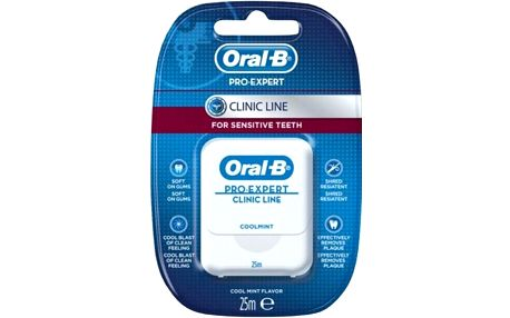 Oral B dentální nit Floss Expert Clinic 25m