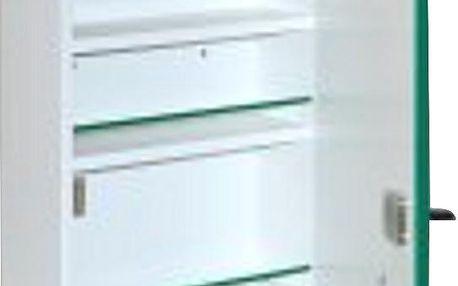 Lékárnička ALFA dřevěná ALFA A300 závěsná 37x30x10