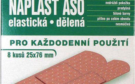 Náplast ASO elastická MIX 16 ks