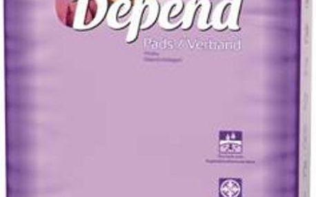 Inkontinenční vložky absorpční DEPEND Normal Plus 12ks
