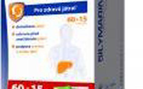 SILYMARIN DUO DaVinci 60 + 15 tobolek + Detoxikační rádce ZDARMA