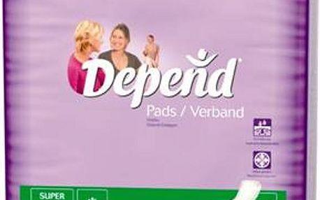 Inkontinenční vložky absorpční DEPEND Super 42ks