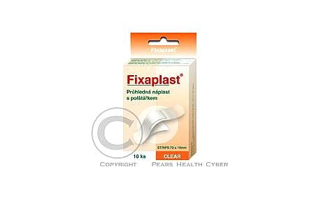 Náplast Fixaplast CLEAR strip 10 ks